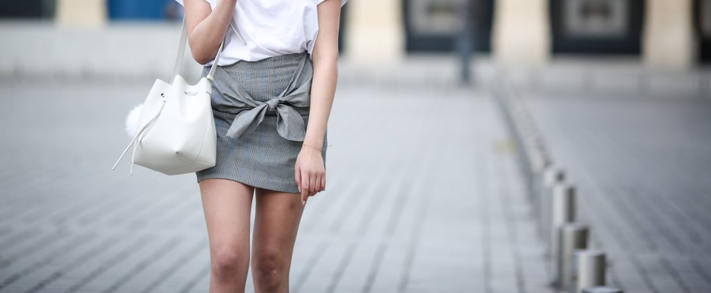 The Fall Miniskirt Trend That Has Us All Wrapped Up