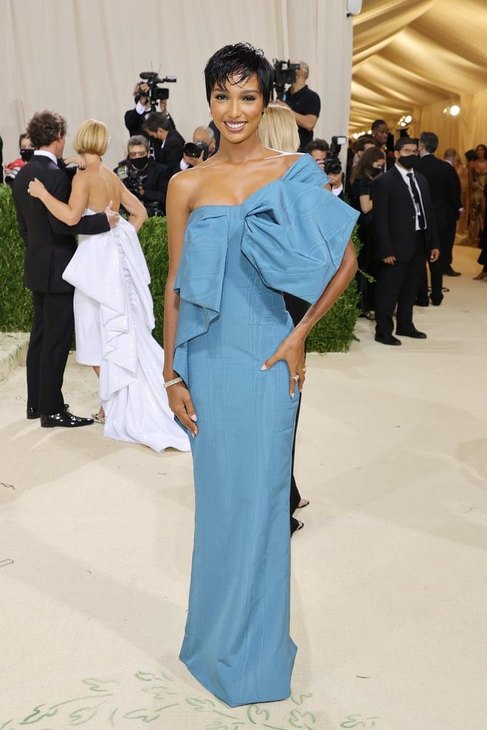 Jasmine Tookes at the 2021 Met Gala