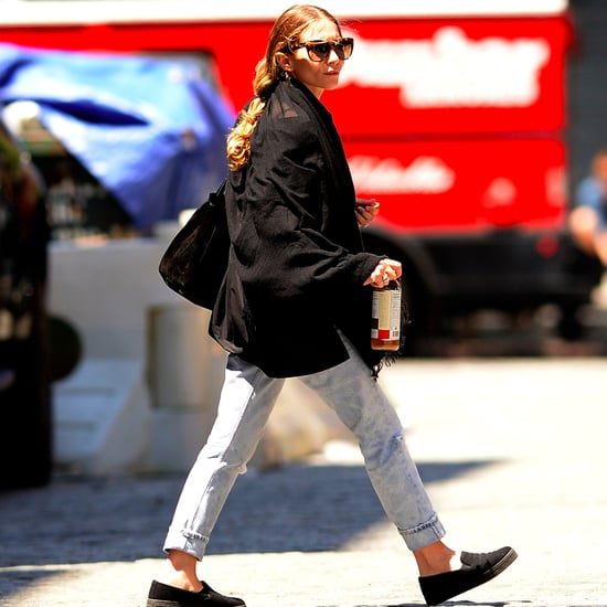 Ashley Olsen Wearing Jeans