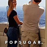 Leonardo DiCaprio and Nina Agdal at the Griffith Observatory