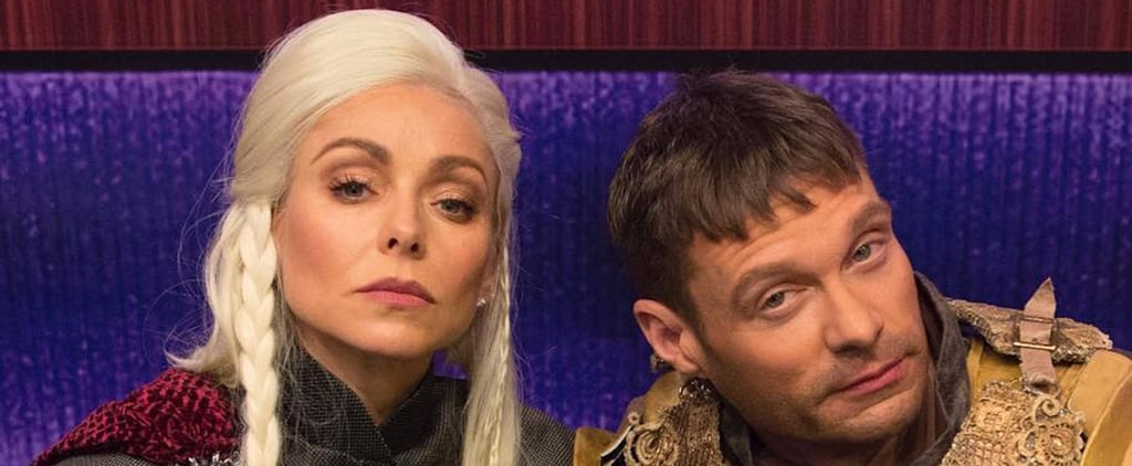 Kelly Ripa's and Ryan Seacrest's Game of Thrones Costumes Would Make Daenerys and Jaime Proud