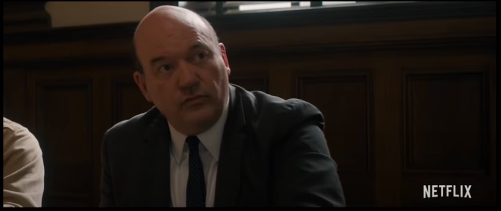John Carroll Lynch as David Dellinger   The Trial of the Chicago 7: See How  the Movie's Cast Compares to the Real People   POPSUGAR Entertainment Photo  14