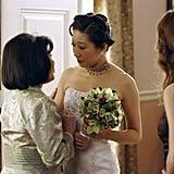 Cristina's Wedding to Burke