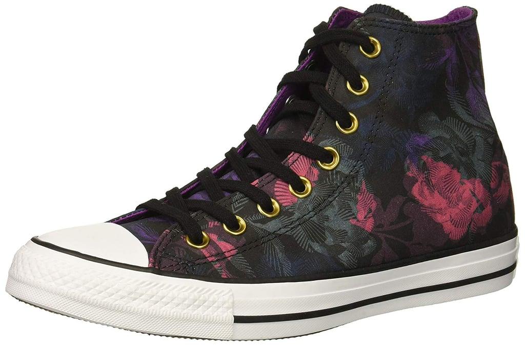 fc31bd011e6 Converse Women s Chuck Taylor All Star Floral Print High-Top Sneaker ...
