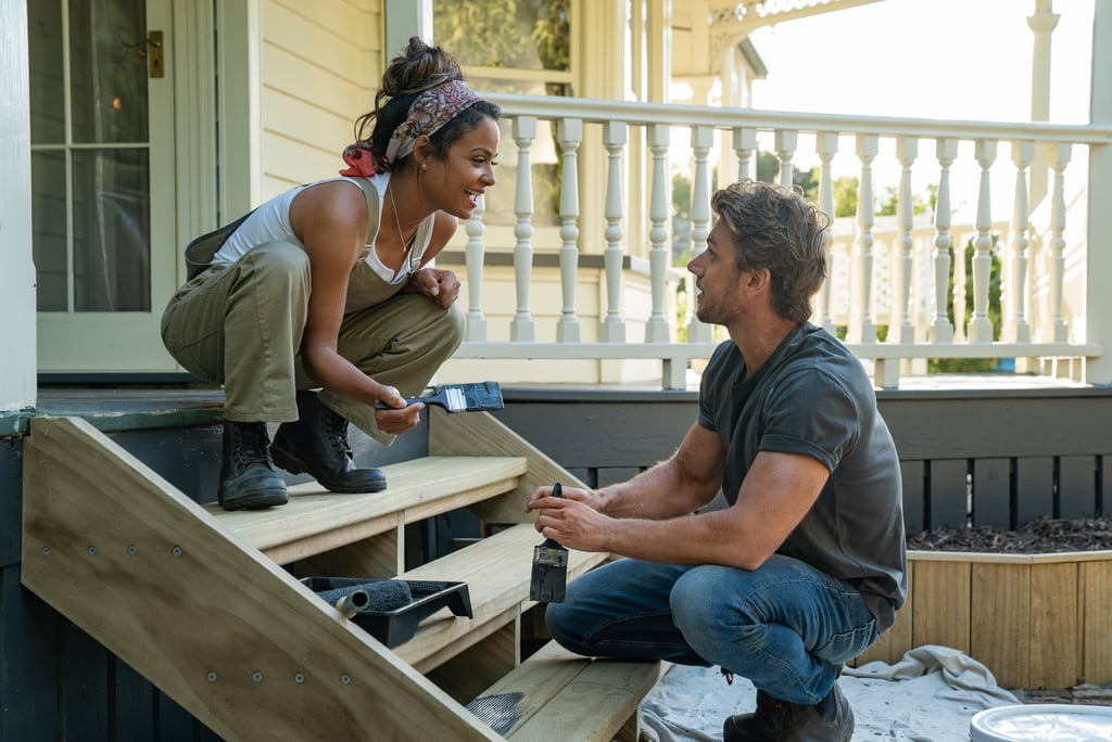 "If you're of the belief that a cheesy rom-com isn't complete without a punny title, then we have good news: Netflix's upcoming feel-good romance about a woman who ends up renovating a rustic New Zealand inn is titled . . . wait for it . . . Falling Inn Love. (We're head over heels already.) The name isn't all Netflix shared about their next foray into the world of original romantic comedies, either. The streaming giant has released not only a handful of images from the new film, but also a full cast list and plot.  The film, directed by Roger Kumble, stars singer and actress Christina Milian as ""city girl Gabriela,"" who spontaneously enters a contest to ""win an inn"" — aka renovating the dilapidated Bellbird Valley Farm — after a breakup. Lo and behold, she wins! Which means she has to travel from her home in San Francisco to New Zealand, where the Bellbird is located. Luckily, with the help of a handsome contractor (Adam Demos), Gabriela fixes up not only the inn, but her heart (awwww). In addition to Milian and Demos, Falling Inn Love stars Jeffrey Bowyer-Chapman, Anna Jullienne, Claire Chitham, Blair Strang, Jonathan Martin, William Walker, Daniel Watterson, and Simone Walker. Fortunately for us all, the wait to see it won't be all that long! The film begins streaming on Aug. 29, 2019. In the meantime, though, you can scroll through the first-look images from the movie, ahead.      Related:                                                                                                           The 27 Best Romantic Comedies on Netflix Right Now"