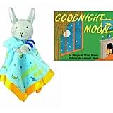 Goodnight Moon Bunny Blankie and Board Book