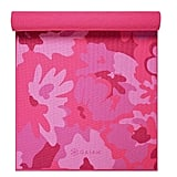 Gaiam Pink Printed Yoga Mat
