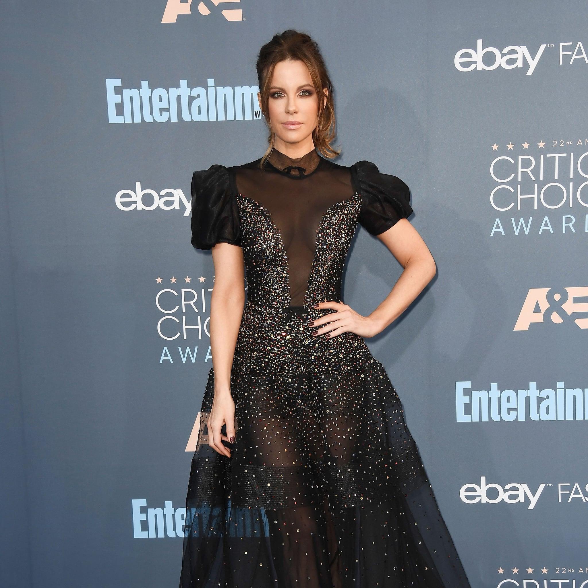 Kate Beckinsale's Dress at Critics' Choice Awards 2017   POPSUGAR ...