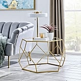 FirsTime & Co. Geometric Glam Coffee Table