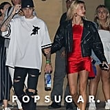 Justin Bieber and Hailey Baldwin at Nobu in Malibu, CA