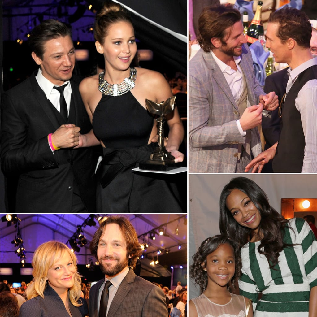 Celebrities Mix and Mingle Inside the Spirit Awards