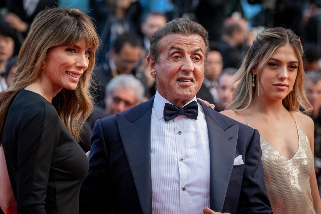 Jennifer Flavin, Sylvester Stallone, and Sistine Stallone