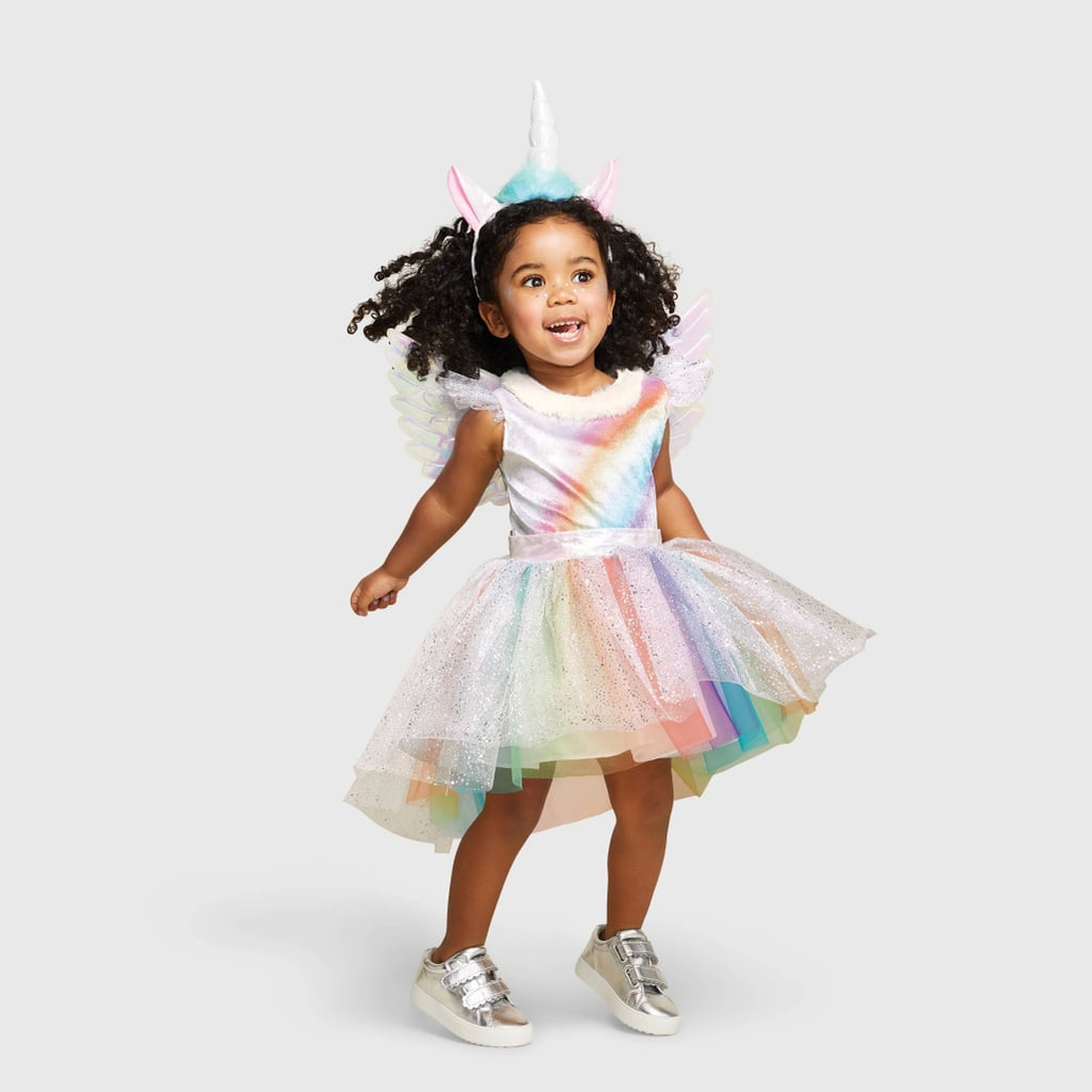 Toddler Rainbow Unicorn Halloween Costume