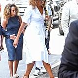 Michelle Obama's White Dress