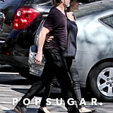 Brad and Angelina Show PDA at Shiloh and Zahara's Soccer Game