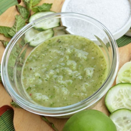 Treat Your Feet to a Cooling Cucumber Mask