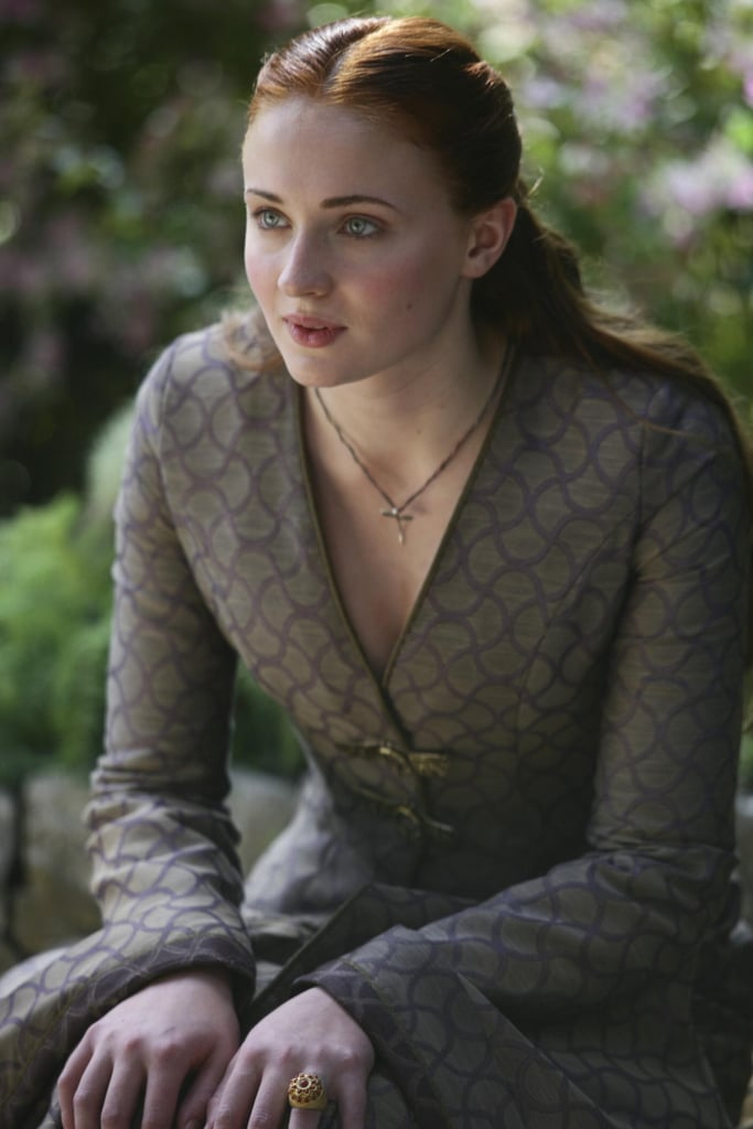 Sansa Stark (Sophie Turner) is looking a lot more grown-up.