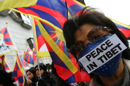 Tibetan Students Protest at The United Nations