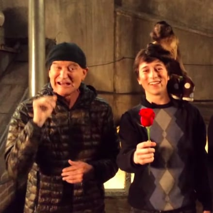 Robin Williams and Ben Stiller Prom Proposal Video