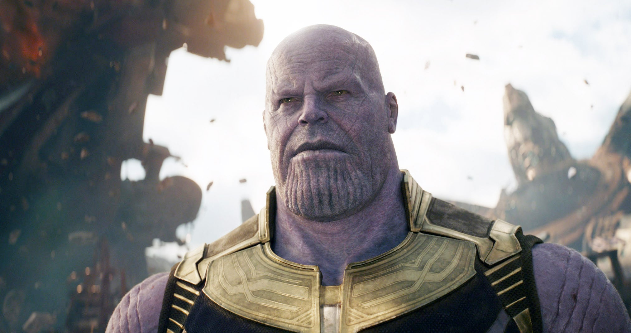 AVENGERS: INFINITY WAR, Josh Brolin as Thanos, 2018.  Marvel/  Walt Disney Studios Motion Pictures /Courtesy Everett Collection