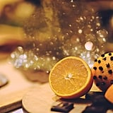 Poke oranges with cloves to infuse your home with seasonal, citrusy cheer.