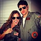 Maverick and Goose From Top Gun