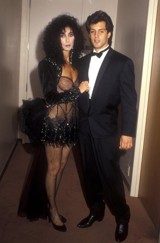 Cher and Rob Camilletti, 1987