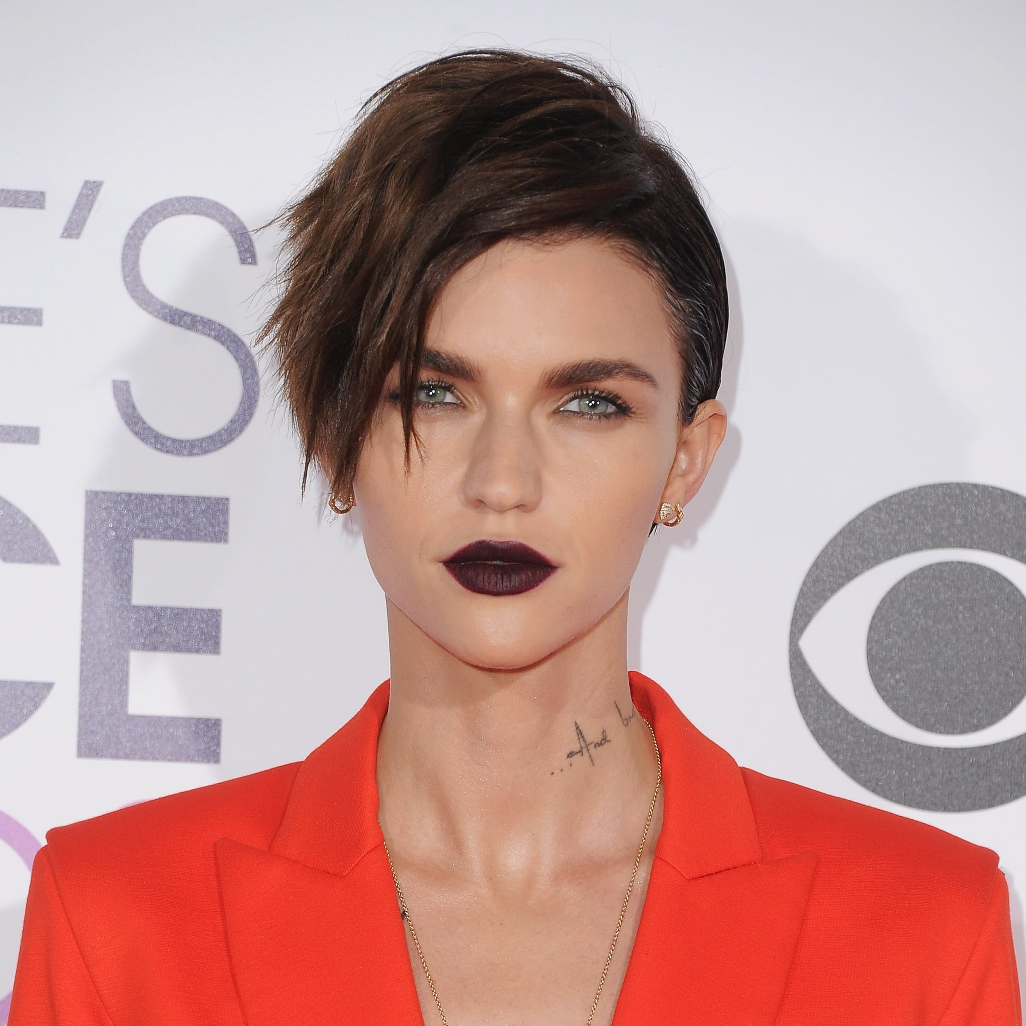22397346b28 Ruby Rose Blue Hair January 2019