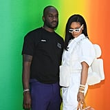 Rihanna at the Louis Vuitton Menswear Show Paris June 2018