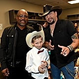 Darius Rucker, Mason Ramsey, and Jason Aldean