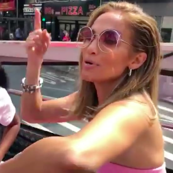 "Jennifer Lopez Rapping Cardi B's ""Money"" Video"