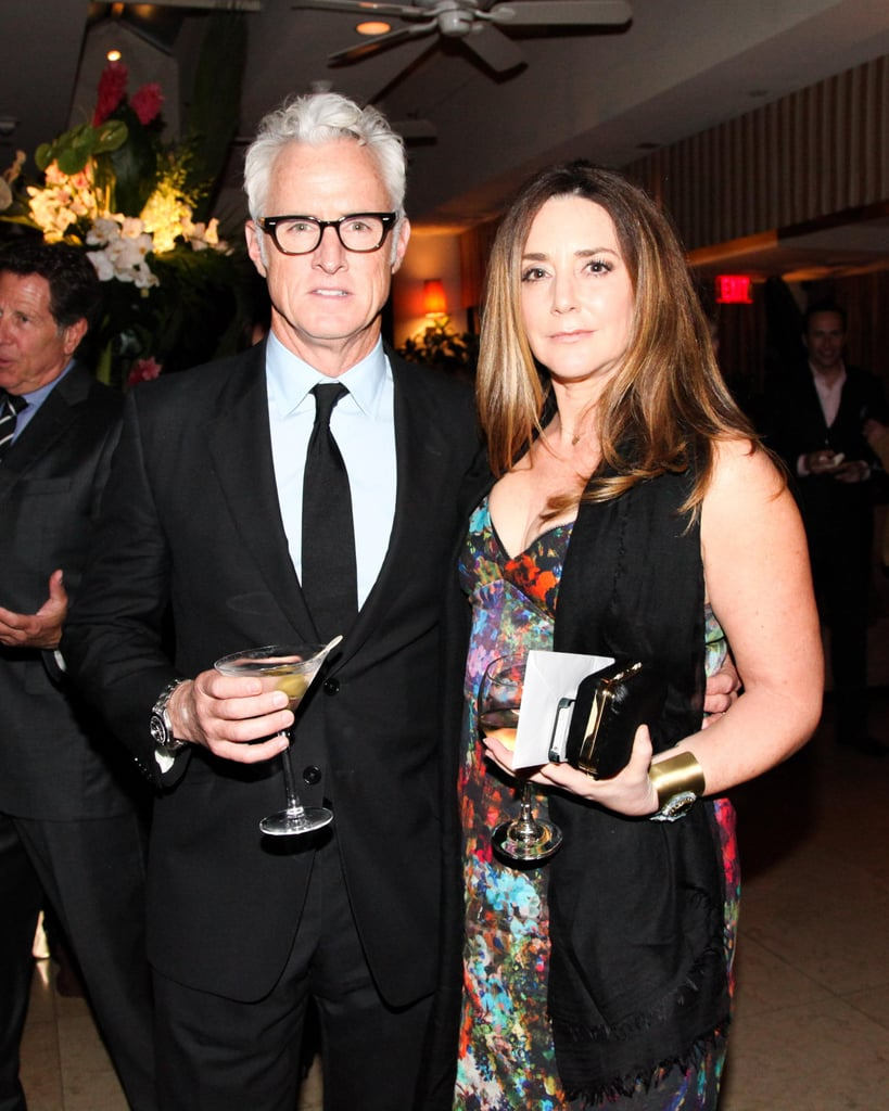 John Slatterly got a drink with onscreen ex-wife and real life spouse Talia Balsam. Source: Aleks Kocev /BFAnyc.com