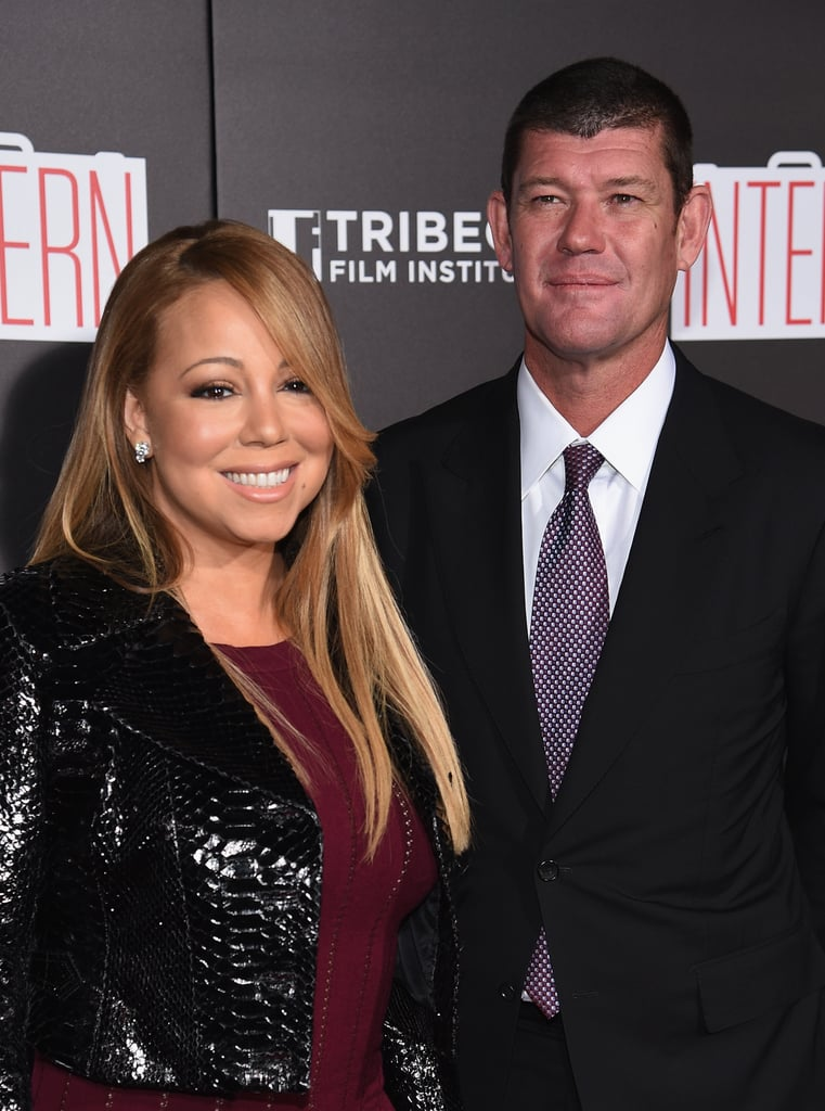 "Mariah Carey and her billionaire boyfriend, James Packer, attended the New York premiere of The Intern on Monday. Mariah, who wore a body-hugging gown paired with a black leather jacket, smiled wide while posing for pictures with James. The couple was first linked when they were spotted on a European getaway in June, and this week's premiere marks the couple's first public appearance together. A source told Us Weekly, ""James was interested in Mariah right when he heard she had split from Nick [Cannon]."" Even though Mariah has been busy enjoying her time with her precious family, she recently stunned at the Harper's Bazaar Icons Event during New York Fashion Week. Keep reading to see the best photos from Mariah's latest red carpet outing."