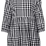 Topshop Gingham Check Smock Dress ($76)