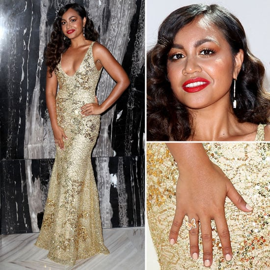 Pictures of Jessica Mauboy in Alex Perry at the 2012 ARIAs
