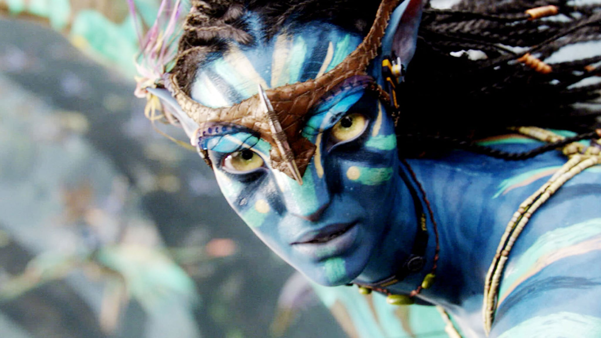 AVATAR, Zoe Saldana, 2009. TM & Copyright 20th Century Fox. All rights reserved/Courtesy Everett Collection