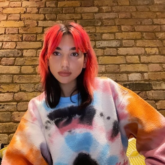 Dua Lipa's Tie-Dye Madhappy Sweatshirt on Instagram