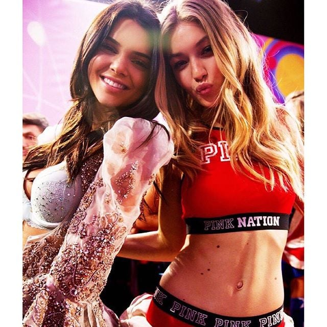Gigi Hadid and Kendall Jenner Victoria's Secret Fashion Show