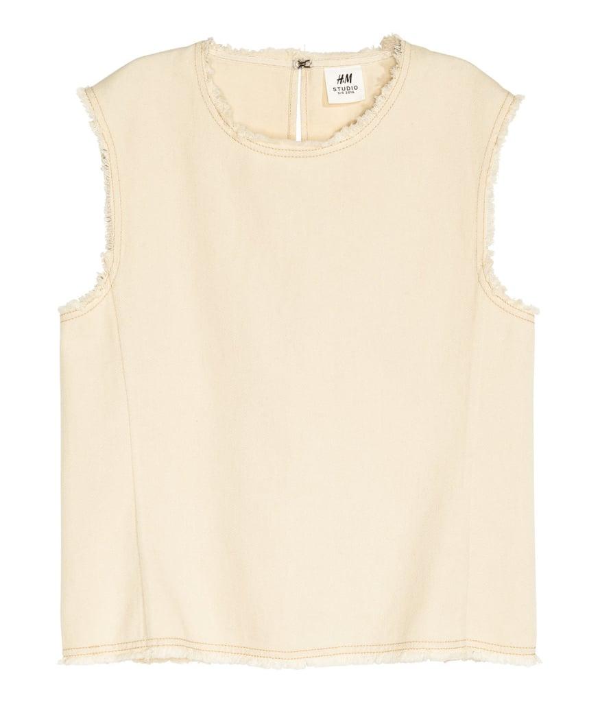 Cotton Twill Top ($25)