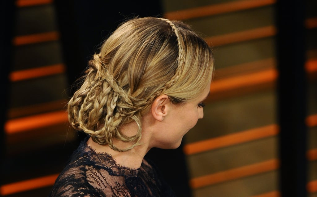 Diane Kruger's Braided 'Do From the Back