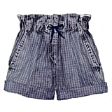 Etoile Isabel Marant Mike Checked Cotton Shorts ($175)
