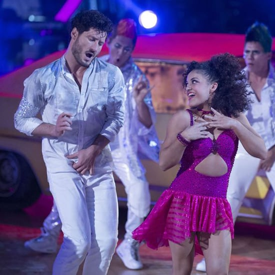 Laurie Hernandez Warming Up For Dancing With the Stars
