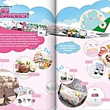 EVA Air's brochure for the Hello Kitty flight experience reflects the adorable fun that passengers aboard the jet will experience during their travels.