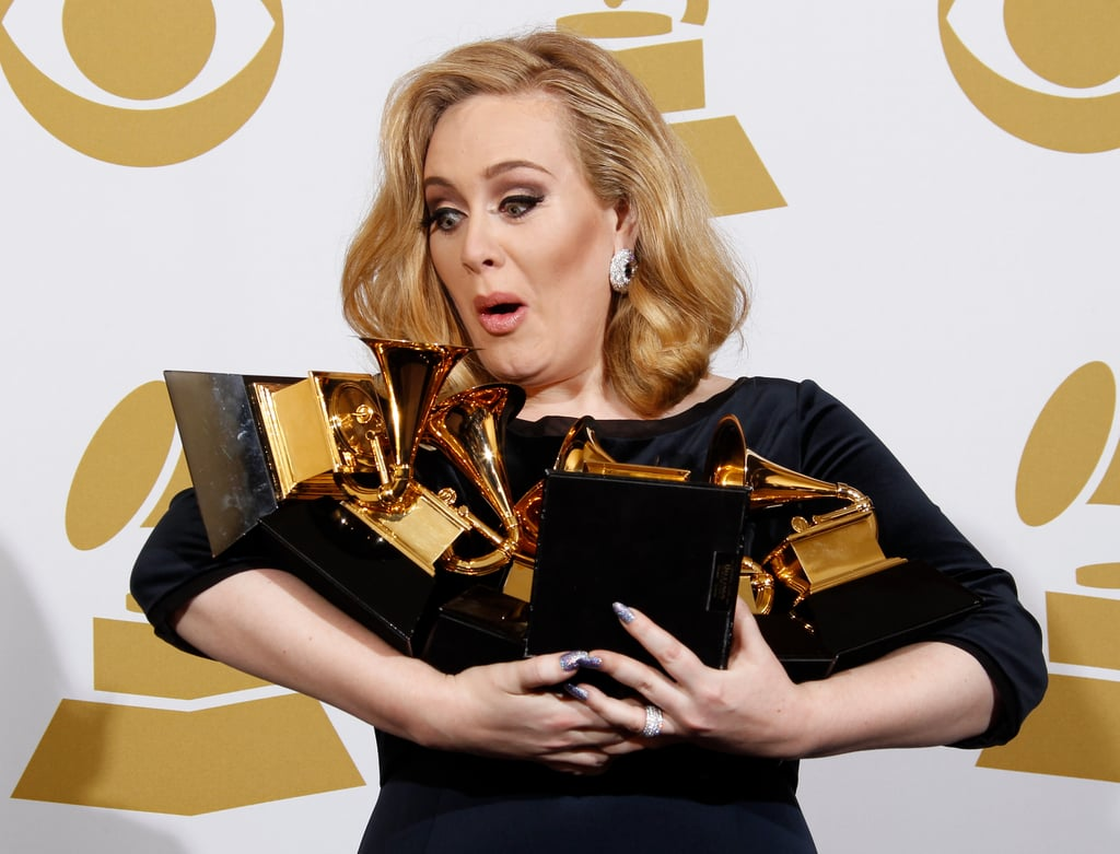 Reactions to Adele's Win Over Beyonce ... - POPSUGAR Celebrity
