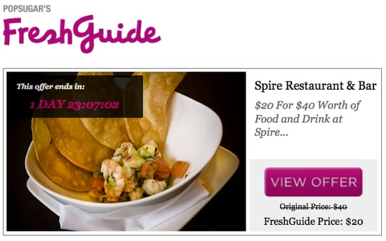 PopSugar's FreshGuide Launches