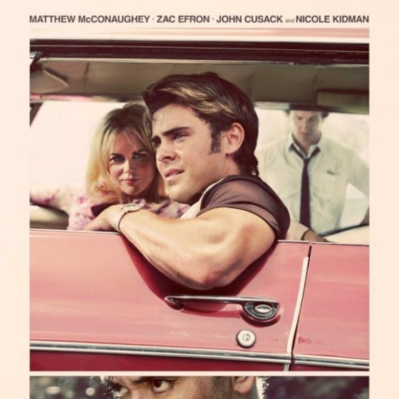 First Look at The Paperboy Movie Poster Starring Zac Efron and Nicole Kidman