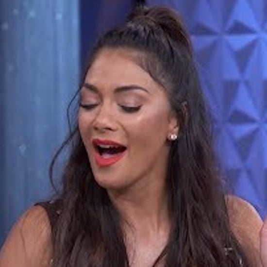 Nicole Scherzinger Celebrity Impressions on The Real 2017