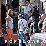 And there's Matt Bomer, with Tatum joining the crew.