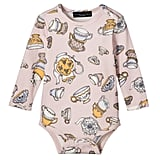 Baby Blush Tea Party Printed Bodysuit ($13)