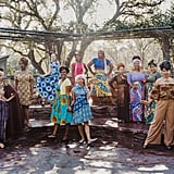 Women Dress Up as Disney Princesses in African Prints